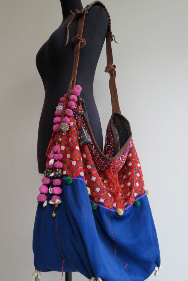 Ethnic Handmade Handbags- vintage fabric- Tote