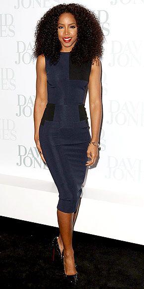Kelly Rowland at the David Jones 2012/13 season launch in Sydney