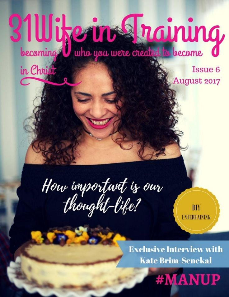 31Wife in training magazine issue 6 (August 2017)