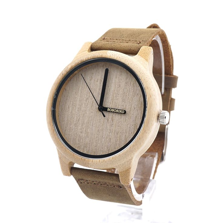 Womens Casual Antique Round Bamboo Wooden Watches //Price: $36.43 & FREE Shipping //     #fashion