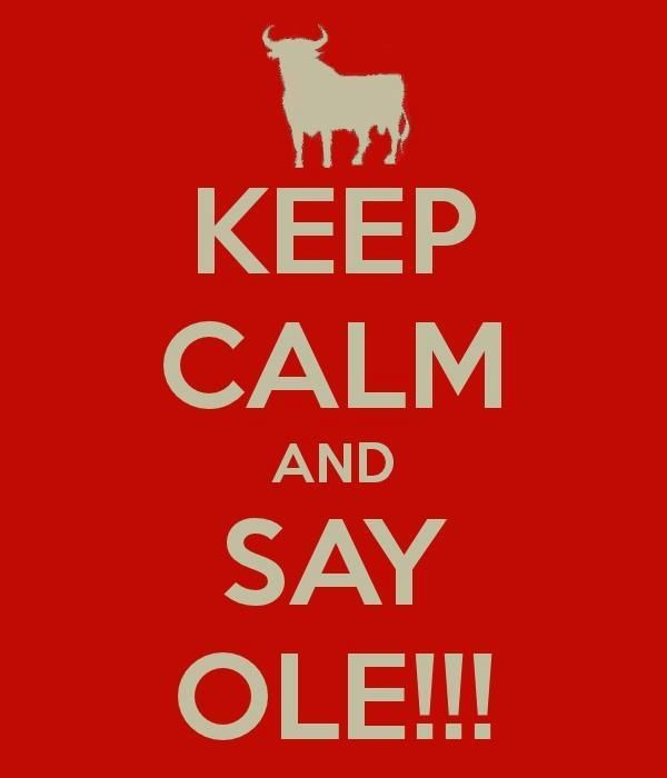 Emulando a la Reina... Ole!!! Viva la fiesta! Lo que es el Arte del Toreo!!
