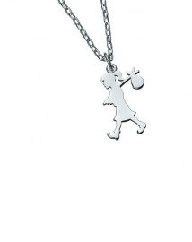 #Runaway #Pendant - A timeless piece of jewellery made from sterling silver with Black Karen Walker Jewellery box.