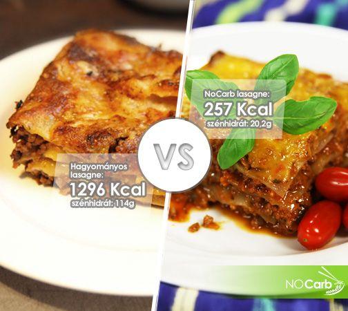 Hagyományos lasagne VS NoCarb lasagne | NoCarb lasagne recept: http://youtu.be/bB8kdo51IYw