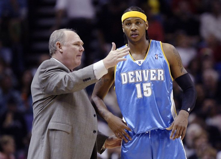 George Karl rips Carmelo Anthony in new book and blames lack of father to show him 'how to act like a man'