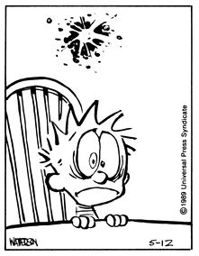 98 best Calvin and Hobbes images on Pinterest  Comic strips