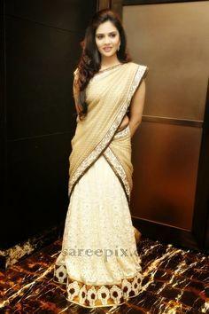 kerala half saree - Google Search
