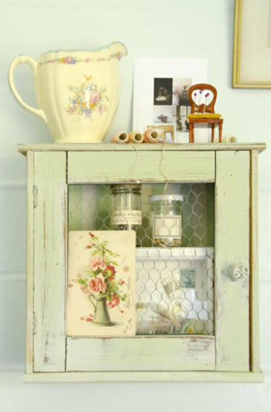 """This lovely little cupboard is from our feature """"Riverside Idyll"""""""