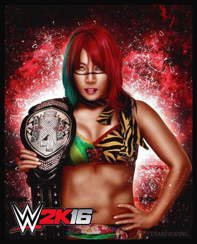 Risultati immagini per Asuka (wrestler)