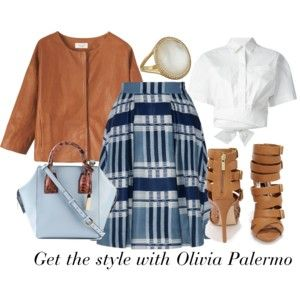 """Get the style with Olivia Palermo II."" by stehlikova-alice on Polyvore"