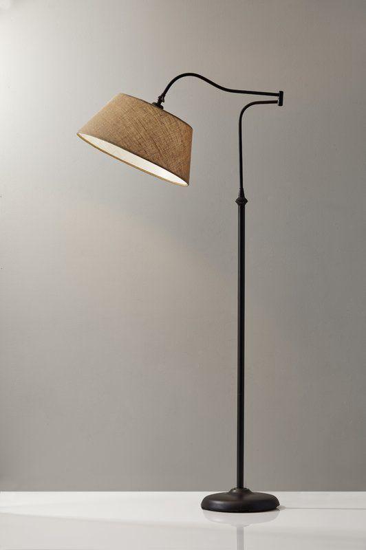 Florance Swing Arm Floor Lamp In 2019 Swing Arm Floor Lamp