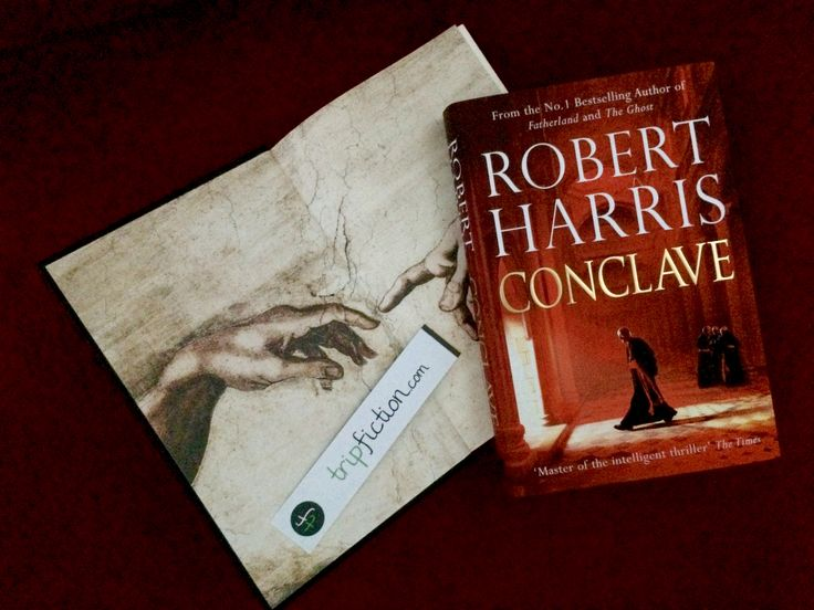 "Thriller set in the VATICAN, ROME ""Conclave"" by Robert Harris http://www.tripfiction.com/thriller-set-in-the-vatican/"