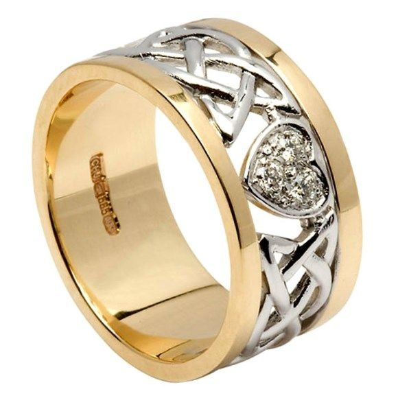 40 Best Celtic Wedding Rings Images On Pinterest Celtic