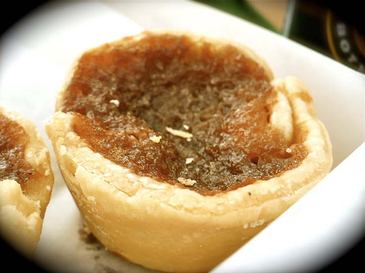 Canadian Butter tarts! It's true, they're native to this country and they're way better than a pecan pie! :-) @HalfmoonYoga