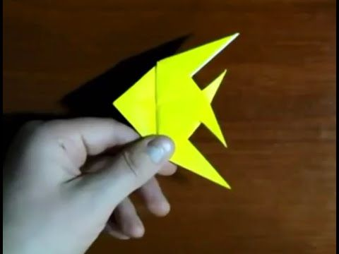 Оригами Рыба как сделать из бумаги Origami Fish how to make from paper