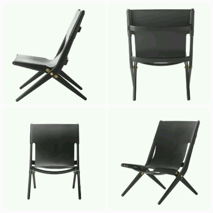 Saxe - Black leather from by Lassen - this one is so cool