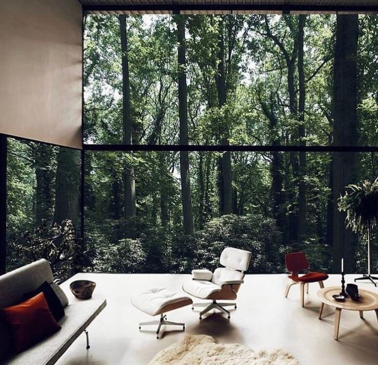 Charming Floor To Ceiling Windows U003d Redwoods For Walls. Necklace Residence / REX  That View! Design Inspirations