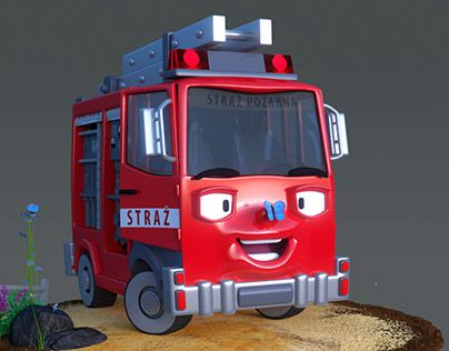 """Check out new work on my @Behance portfolio: """"Fire truck"""" http://on.be.net/1I4EWfc"""