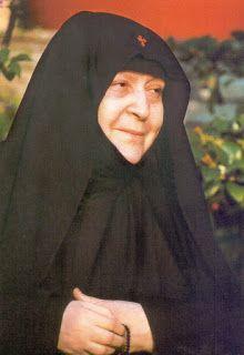 ΚΥΡΙΟΣ ΙΗΣΟΥΣ ΧΡΙΣΤΟΣ LORD JESUS CHRIST 3: Ἡ Σοφία, μία πνευματική μου ἀδελφή ἀπό τόν κόσμο.Γερόντισσα Μακρίνα Βασσοπούλου
