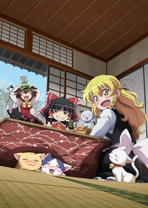 るなむー on twitter in 2021 anime touhou anime anime art girl