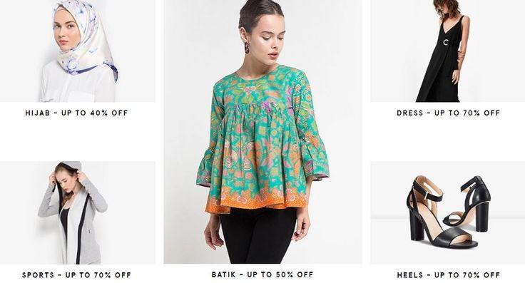 Kesepakatan Khusus Ramadhan - Klaim diskon mengesankan hingga 50% untuk pembelian barang fashion trendi untuk Pria & Wanita dan ambil diskon EXTRA 25% dengan menerapkan kode Promo ini. Hanya di Za