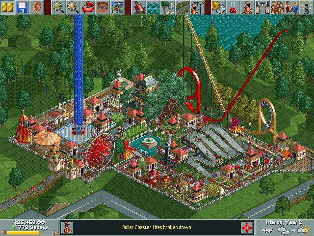 One of the Classics: Rollercoaster Tycoon Dinky Park | News