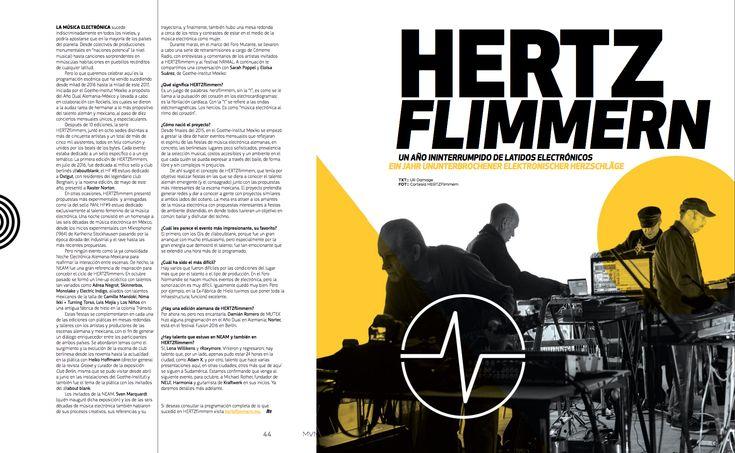 De Fondo: Hertz Flimmern  #HertzFlimmern #MinimalDesign #GermanyDesign #Germany #Minimal #RevistaMarvin #Marvin #ArtDirection #Magazine #EditorialDesign #Editorial #GraphicDesign