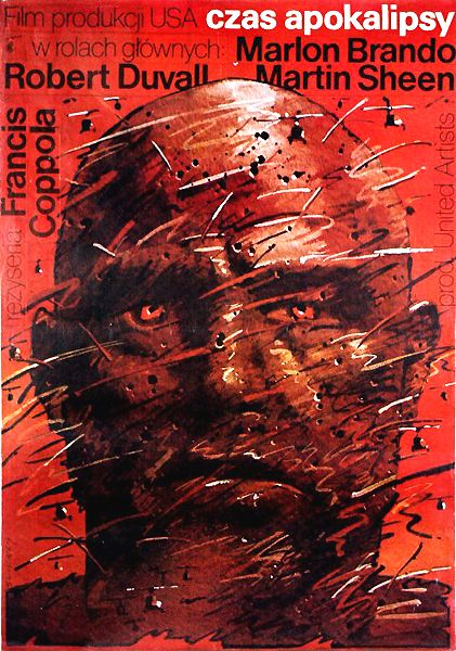 APOCALYPSE NOW de Francis Ford Coppola (1979) Polish poster