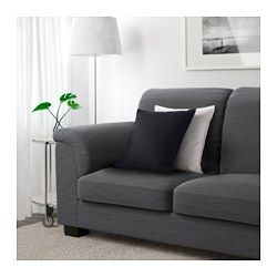 Cheap Sectional Sofas IKEA TIDAFORS Loveseat Hensta gray The high back provides good support