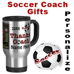 Soccer Coach Gifts Thank You Coaches Personalized with Your Coach's NAME, YEAR, some of the gifts have a place for YOUR PHOTO or short Message. ALL Personalized SOCCER Gifts CLICK HERE: http://www.zazzle.com/littlelindapinda/gifts?cg=196770565308814581&rf=238147997806552929*/    Watches, Soccer Keychains and more Unique Soccer Coach Gifts. ALL of Little Linda Pinda Designs CLICK HERE: http://www.Zazzle.com/LittleLindaPinda*/