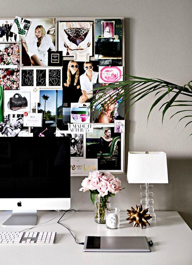 at home work office idea - 10 Favorite Apartment Decor Ideas