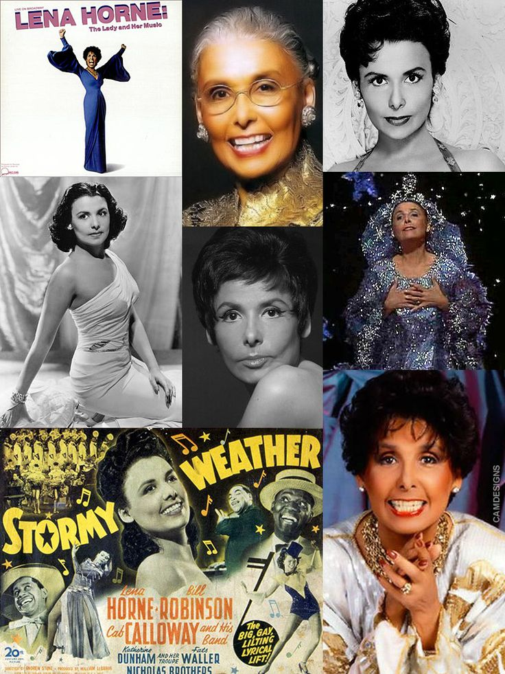 Lena Mary Calhoun Horne (June 30, 1917 – May 9, 2010) was an American singer, actress, civil rights activist & dancer. She joined the Cotton Club chorus at the age of 16, became a nightclub performer, & then moved to Hollywood where she was ultimately blacklisted for her political views. She returned to her roots as a nightclub singer & continued performing into the 1990s, disappearing from the public eye in 2000. She won a special Tony Award & 2 Grammys for her one-woman Broadway show in…