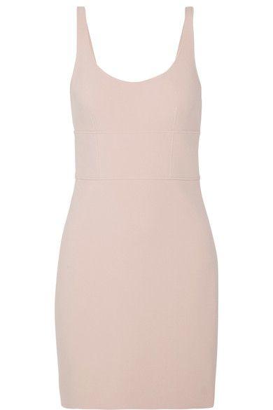 Elizabeth and James - Huette Cutout Stretch-ponte Mini Dress - Taupe - US12