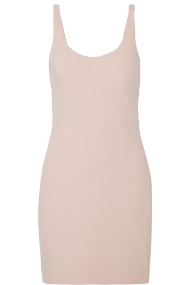 Elizabeth and James - Huette Cutout Stretch-ponte Mini Dress - Taupe - US12