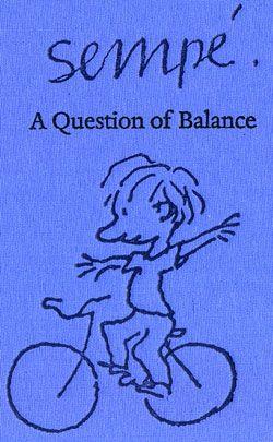 'A Question of Balance' by Jean-Jacques Sempé