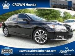 2015 Honda Accord Sport Sedan - Crown Honda of Southpoint: https://www.southpointhonda.com/used-inventory/index.htm