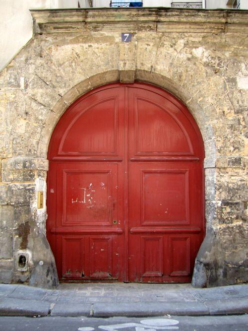 Red door: