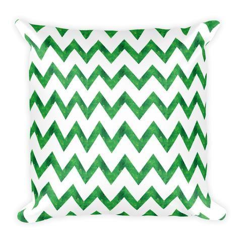 Earthy Green Artistic - Pillow