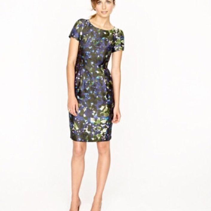 J Crew Lillian Gardenshade Dress