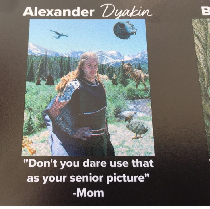 Best picture in my yearbook...
