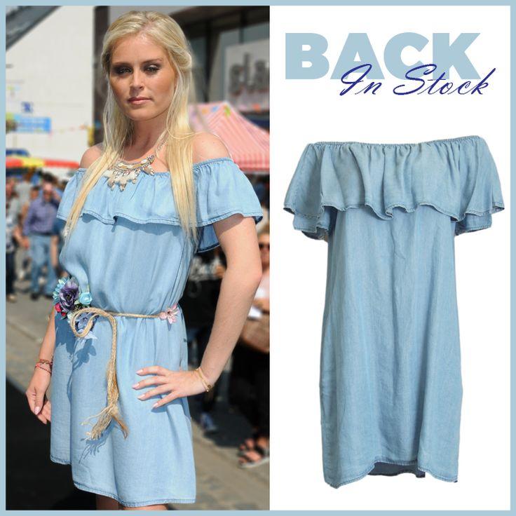 YES! Deze leuke jurkjes zijn net terug binnengekomen! Ga snel naar https://www.bobotremelo.be/webshop/jurken/korte-jurken/jeans-jurk.9087 en haal hem snel in huis!