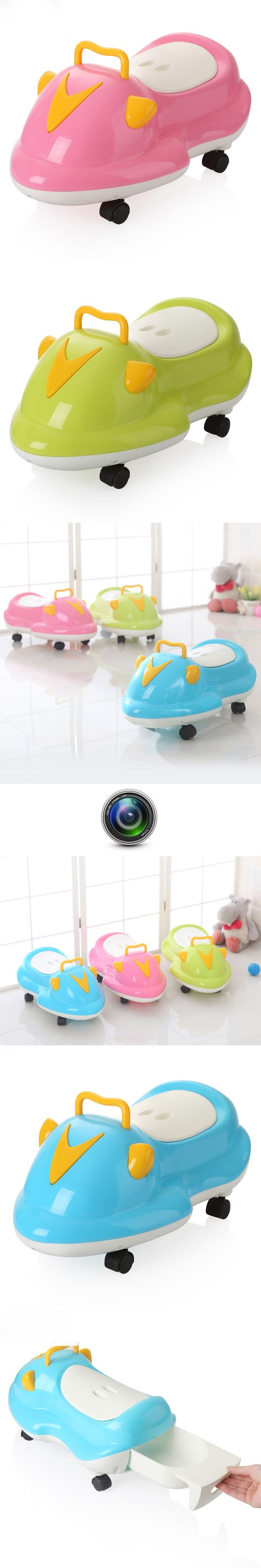 Children's Potty Plastic Lovely Car Baby Toilet Training Boy Girls Unisex Child Toilet Seat Potty Cozy Children's Pot Toilet