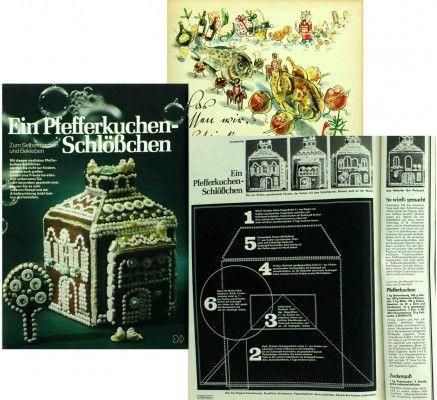 Weihnachtsrezepte aus alten Frauenzeitschriften - unterhaltsam und witzig.