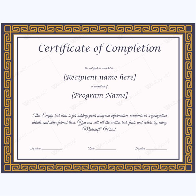 The 25 best Certificate of completion template ideas – First Aid Certificate Template