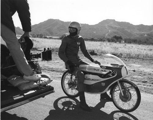 Vintage Suzuki Road Racing Motorcycle...