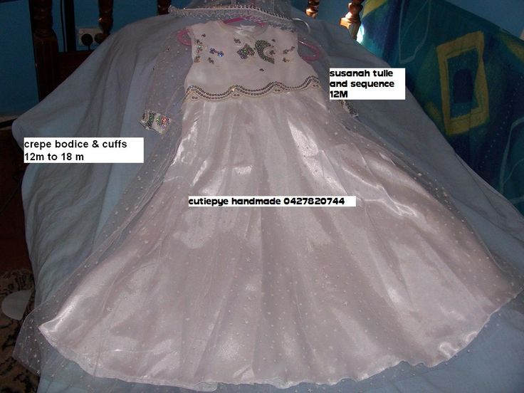 crepe and sequence, gown satin under lay with soft tulle skirt 12M reduced to $150 only 1 left ring 0427820744 a ONE OFF DESIGN
