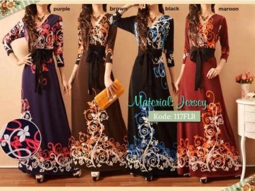 Gamis Kimono Florist 117FLR