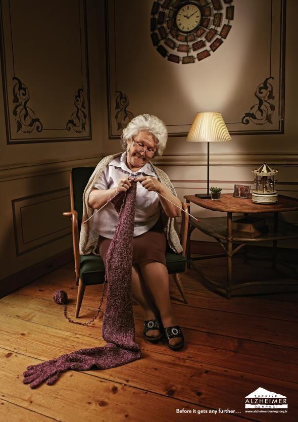Alzheimer Foundation: Knitting