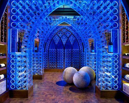 Pool House   Wine Cellar, Modern Wine Cellar, Nashville