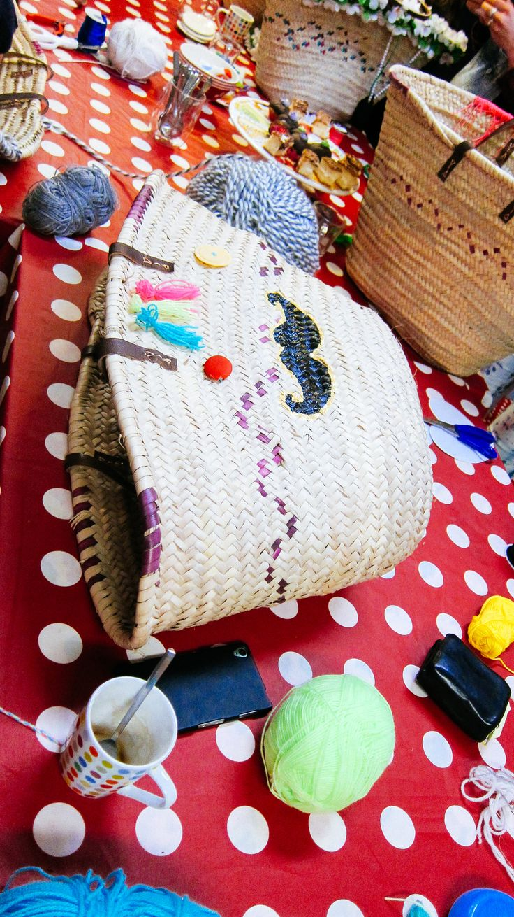Sjabloon snor op rieten tassen- Ibiza bags-http://www.galerie-lucie.nl