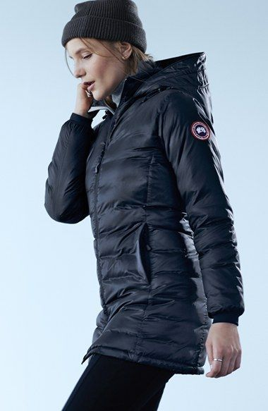 f1e425211a8 Canada Goose Camp Slim Fit Hooded Packable Down Jacket | Nordstrom ...